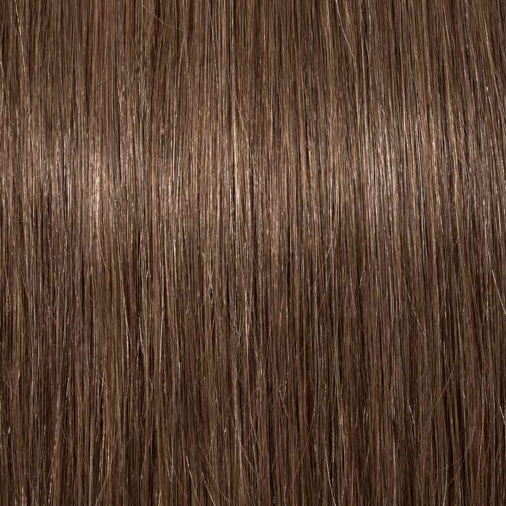 8 Pcs Straight Clip In Remy Hair Extensions 30 Light Auburn