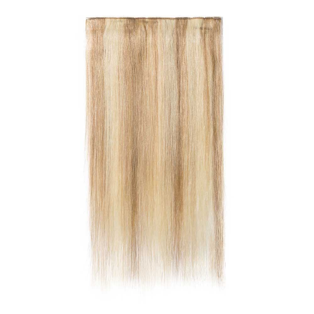 1 Piece Straight Clip In Remy Hair Extensions 18613
