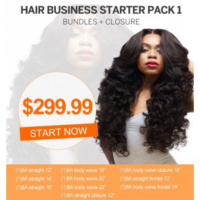 Start Hair Business For Wholesale Package Hair Bundles