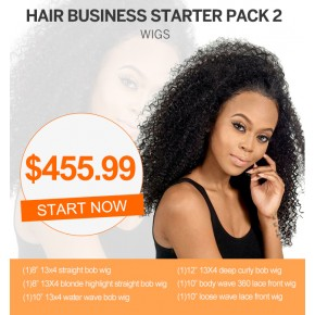 Start Hair Business For Wholesale Wig Package