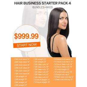 Start Hair Business For Wholesale Hair Bundles and Wigs Package