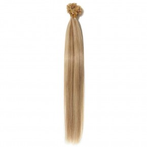 16-22 Inch Straight U-Tip Hair Extensions #12/613