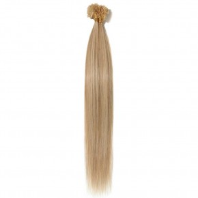 16-22 Inch Straight U-Tip Hair Extensions #18/613