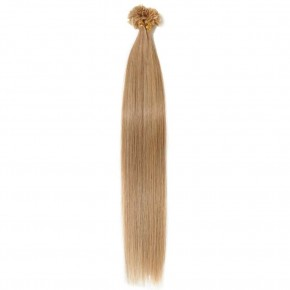 16-22 Inch Straight U-Tip Hair Extensions #27 Dark Blonde