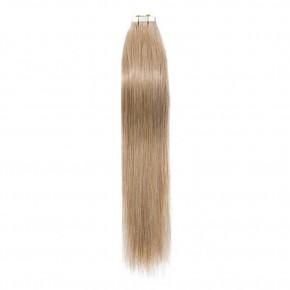 16-24 Inch Straight Tape In Hair Extensions #27 Dark Blonde