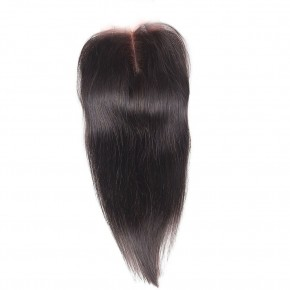 10-20 Inch Virgin Brazlian Hair Straight 4*4 Free Part Lace Frontal Closure