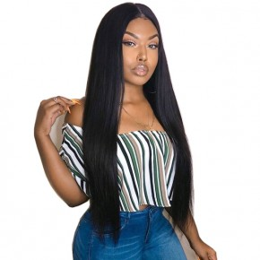 10-22 Inch Brazilian Virgin Straight 360 Lace Front wigs